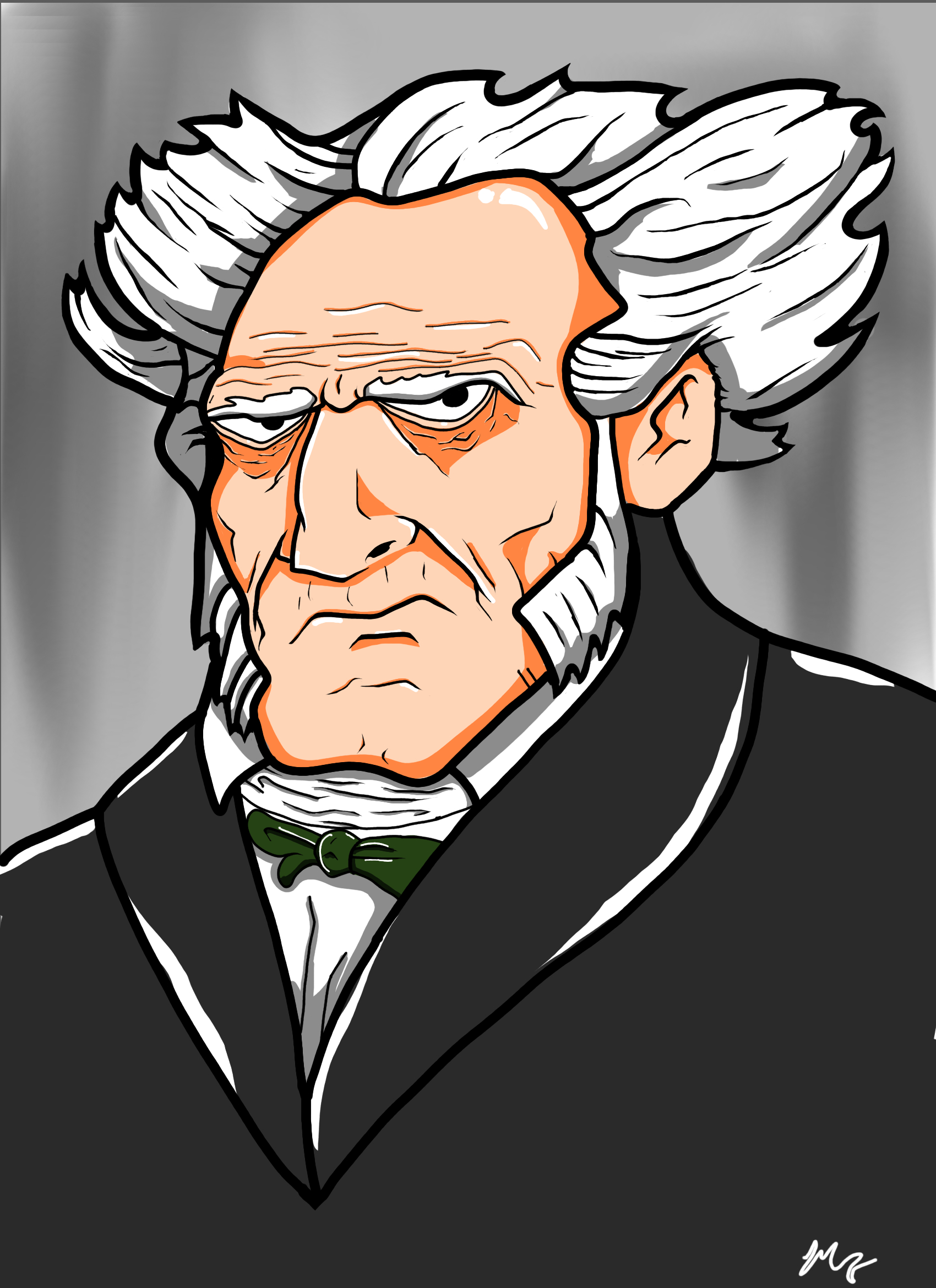 """Schopenhauer,"" by Mitch Francis"