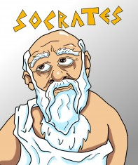 """Socrates,"" by Mitch Francis"