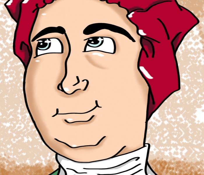 """David Hume,"" by Mitch Francis"