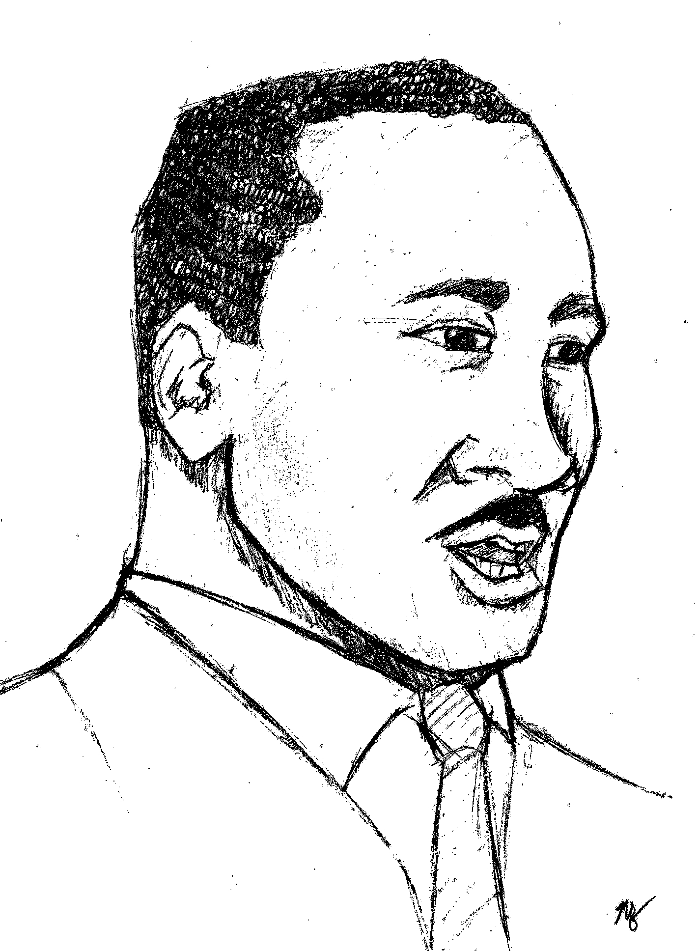 """MLK,"" by Mitch Francis"