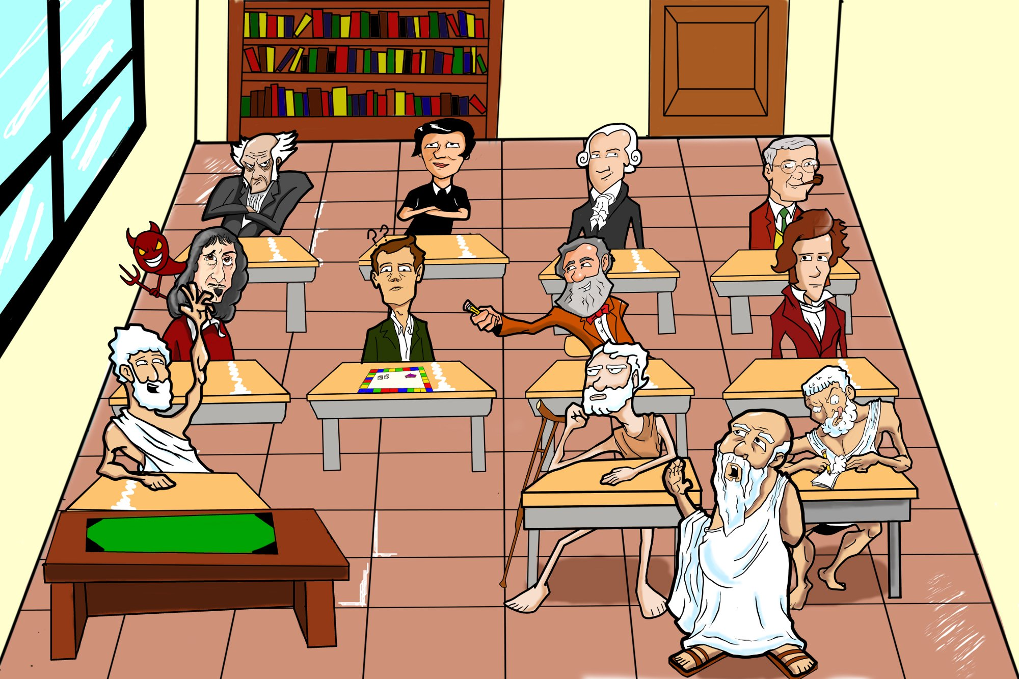 """The School of Athens,"" by Mitch Francis"
