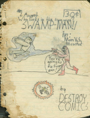 Swamp-Man #2 cover