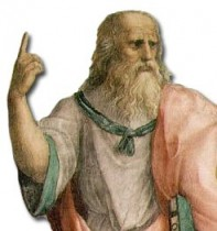 Plato in Raphael's 1509 painting, The School of Athens