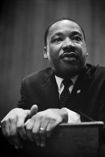Martin Luther King press conference 26 March 1964 / Photo: Marion S. Trikosko