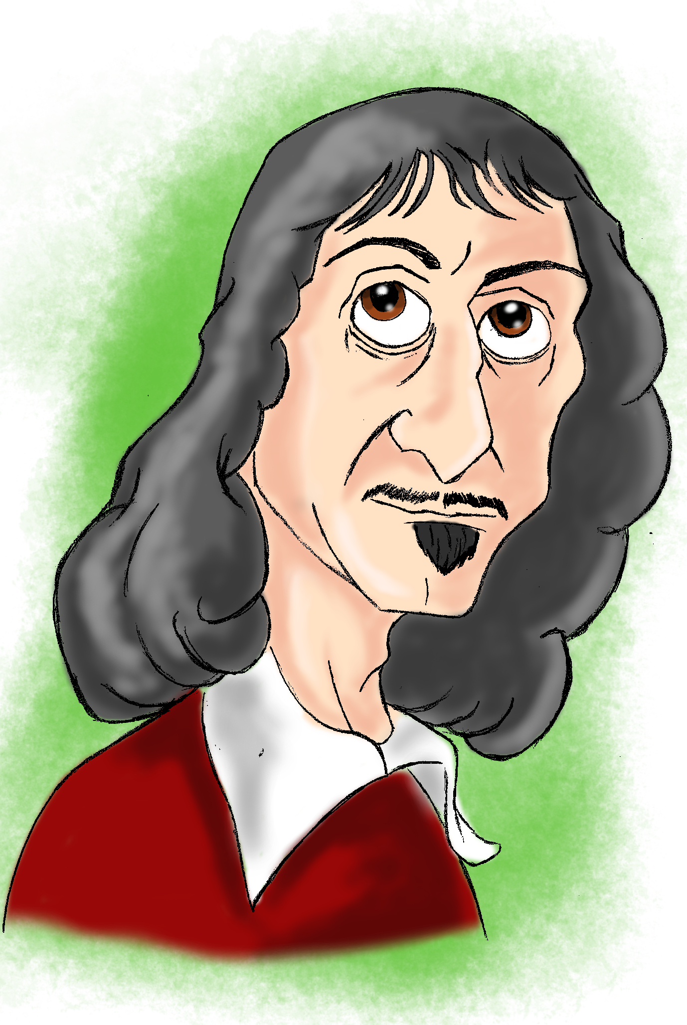 descartes the mind body problem there it is org rene descartes by mitch francis