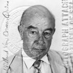 Quine's 1975 passport photo