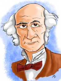 """John Stuart Mill,"" by Mitch Francis"