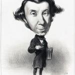 Tocqueville caricature by Honoré Daumier, 1849.